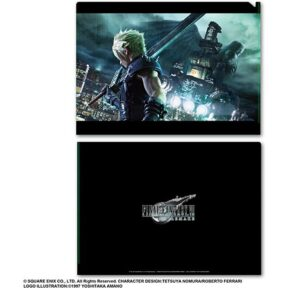 Final Fantasy VII Remake Metallic File Vol.1